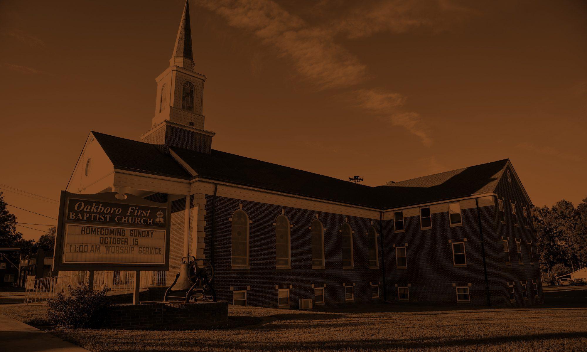 First Baptist Church Oakboro